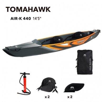 "Baidarė Aqua Marina Tomahawk 14'5""(440 cm) AIR-K-440 2021 8"