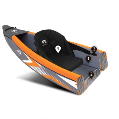 "Baidarė Aqua Marina Tomahawk 15'8"" (478cm) AIR-C 2021 10"