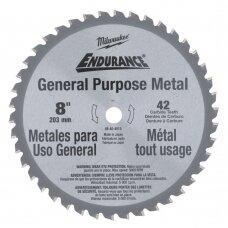 Diskas metalui pjauti 203x15,8mm, 42dant. Milwaukee