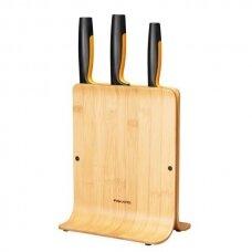 FF 3-ių peilių rinkinys bambukiniame dėkle