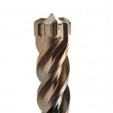 Grąžtas SDS Plius RX4  12x310/250mm (bendras ilgis) (4 kietl. pl.)