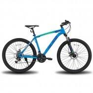 HILAND 21 greičio  kalnų dviratis suaugusiems (Mėlynas, 26 colių)