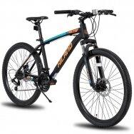 HILAND 21 greičio  kalnų dviratis suaugusiems (Oranžinis, 26 colių)