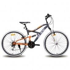 HILAND 18 greičių  kalnų dviratis suaugusiems (26 colių)