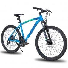HILAND 21 greičio  kalnų dviratis suaugusiems (Mėlynas, 27,5 colių)