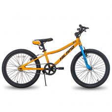 HILAND 7 greičių  dviratis vaikams (oranžinis, 24 colių)