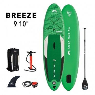 Irklentė Aqua Marina SUP Breeze 9'10″ (300cm - 220l) BT-21BRP 2021 14