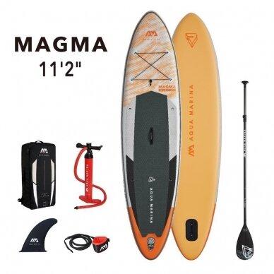 Irklentė Aqua Marina SUP Magma 11'2″ (340cm - 330l) BT-21MAP 2021 14