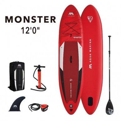Irklentė Aqua Marina SUP Monster 12'0″ (366cm - 380l) BT-21MOP 2021 15
