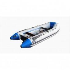Pripučiama valtis Stk-380 STORM (balta-mėlyna)